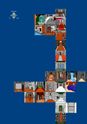 NES - Shadowgate - Map 1