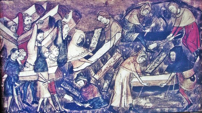 Black Death Calais
