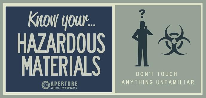 Aperture-Hazardous