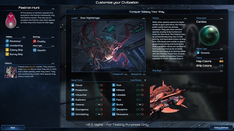 galactic-civilizations-4-festron-traits
