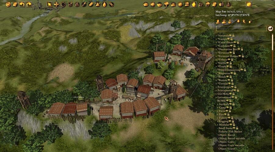 Latium City of Arpinum