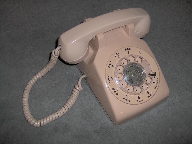 WE500dialphone