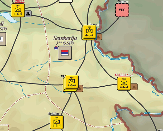 T1A6 Serb S Post Attack Situation