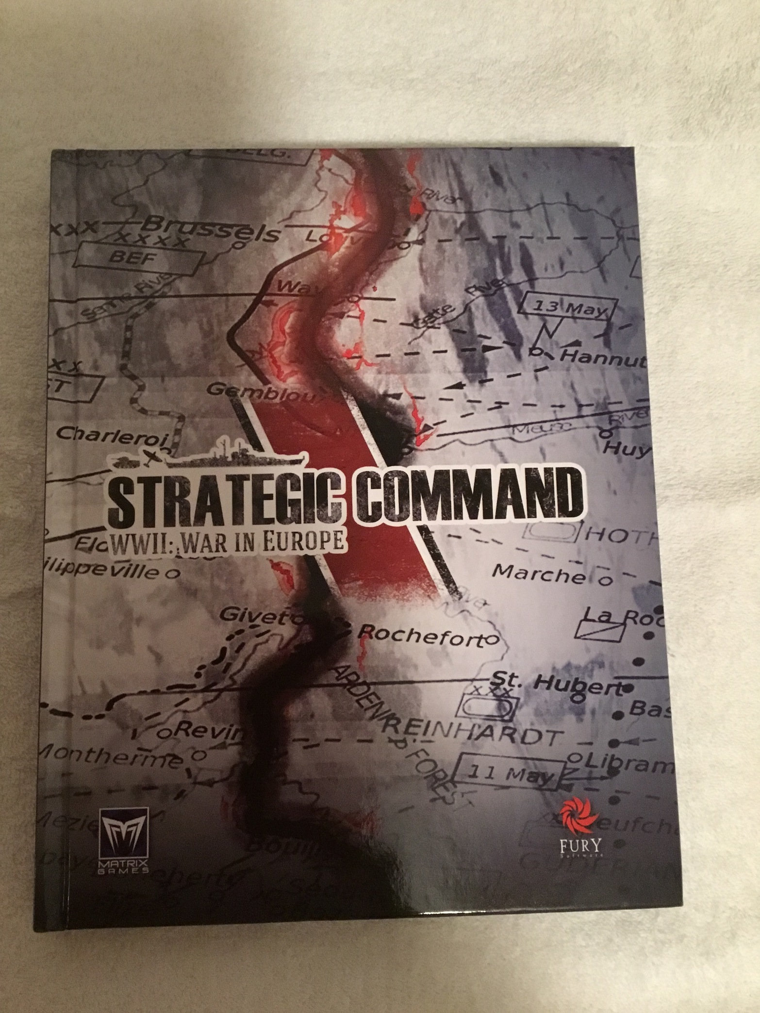 strategic command wwii war in europe manual