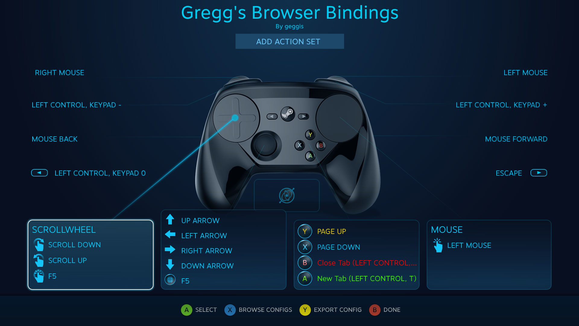 Can someone help a tired idiot with Steam Controller