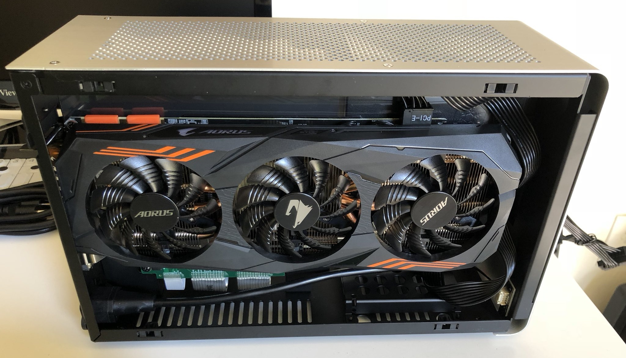 Building the smallest possible PC with a full-size GPU