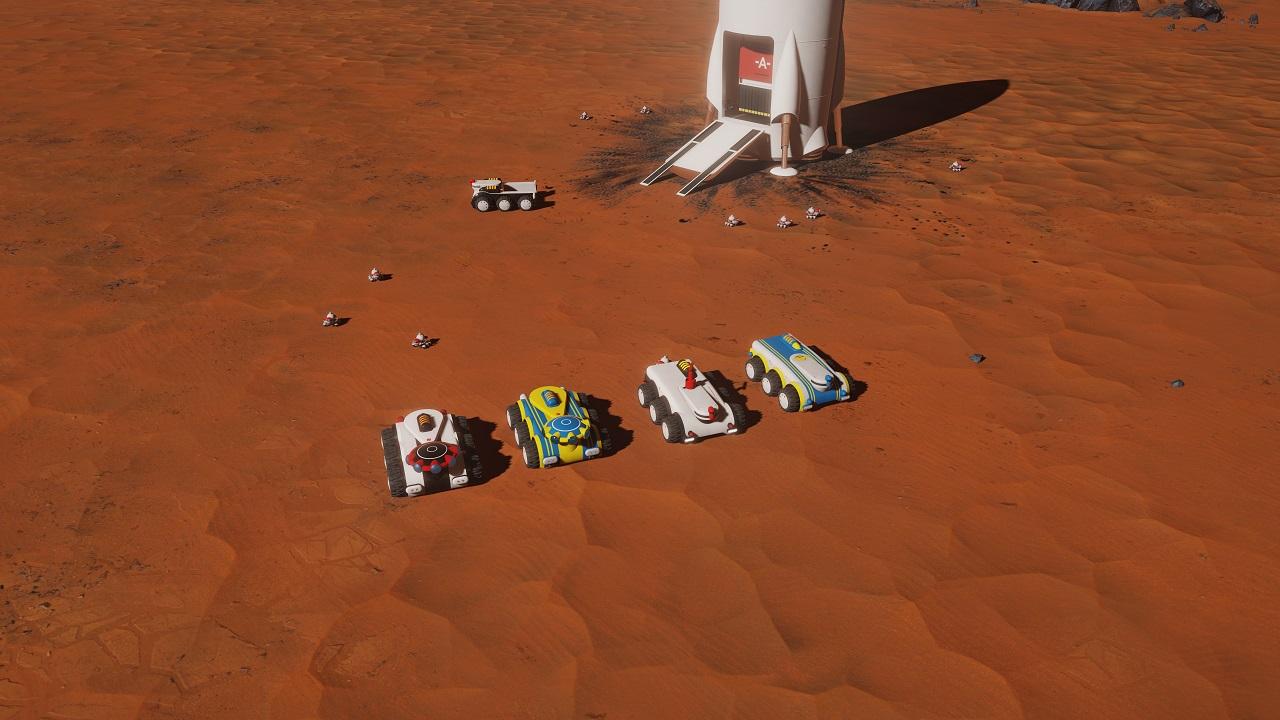 Surviving Mars - Paradox Strategy - Games - Quarter To Three