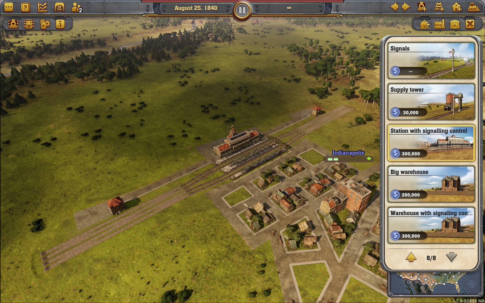 Railway Empire - Railroad Tycoon from Kalypso - Games