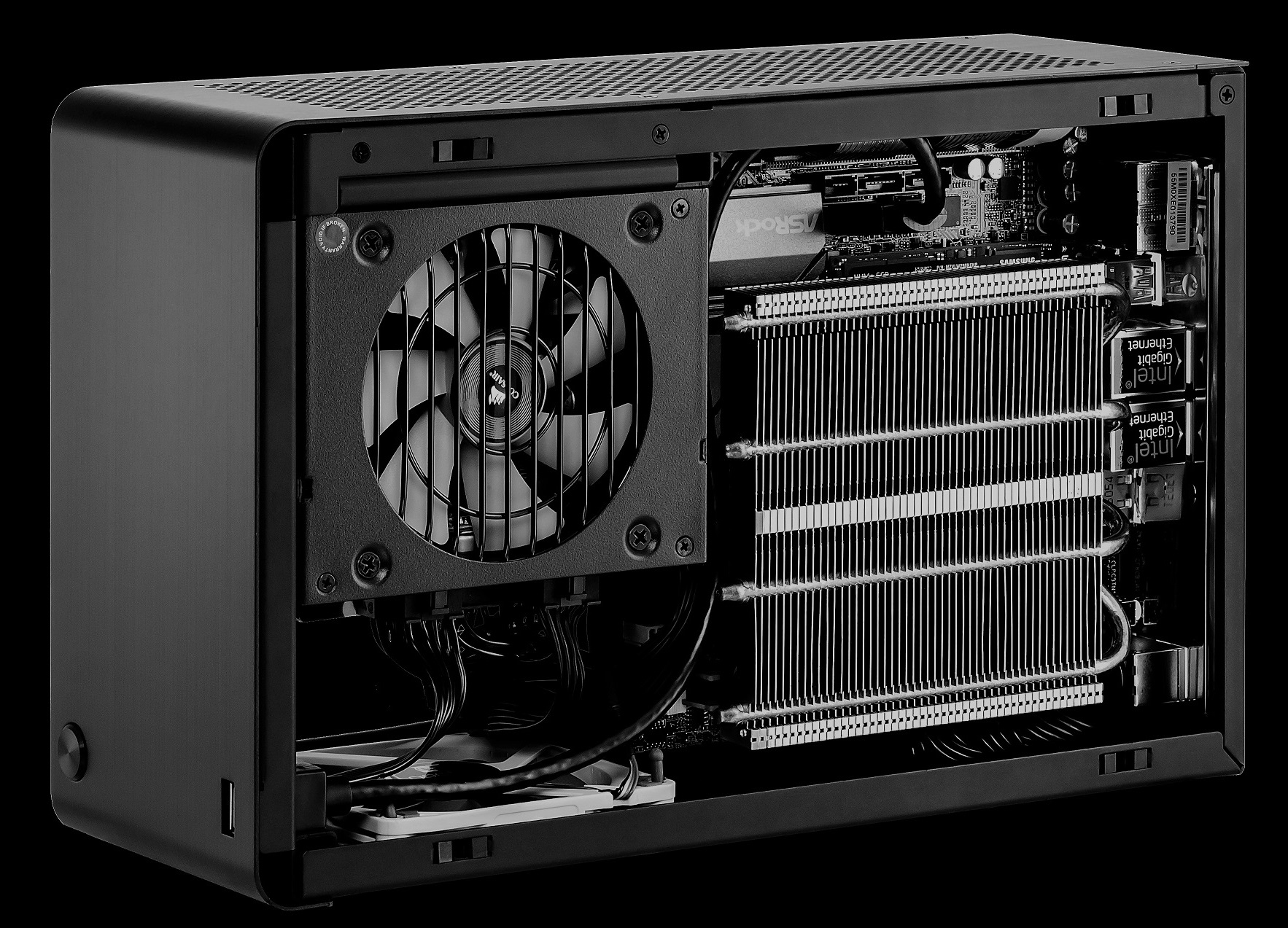 Building The Smallest Possible Pc With A Full Size Gpu