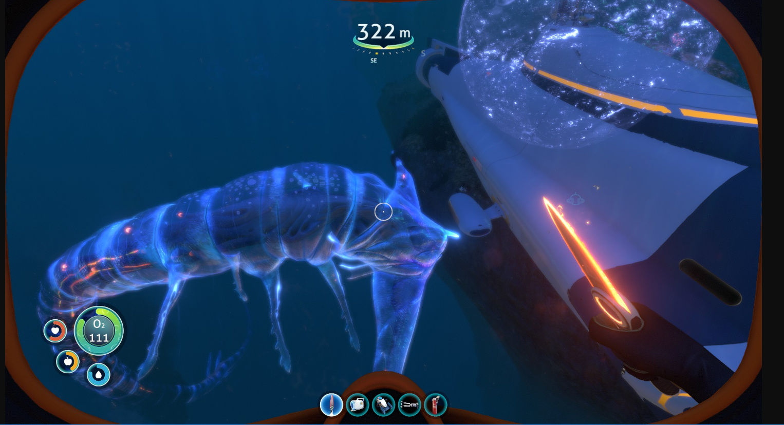 Subnautica - SCUBA, Unknown Worlds, drowning - Games