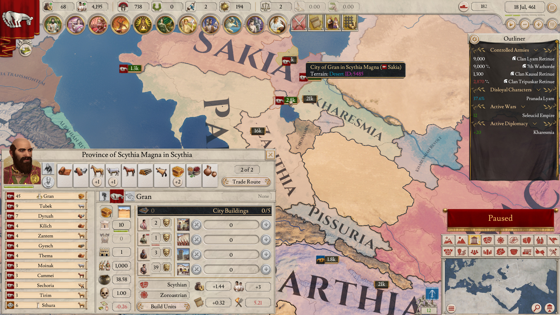 Imperator: Rome - Games - Quarter To Three Forums