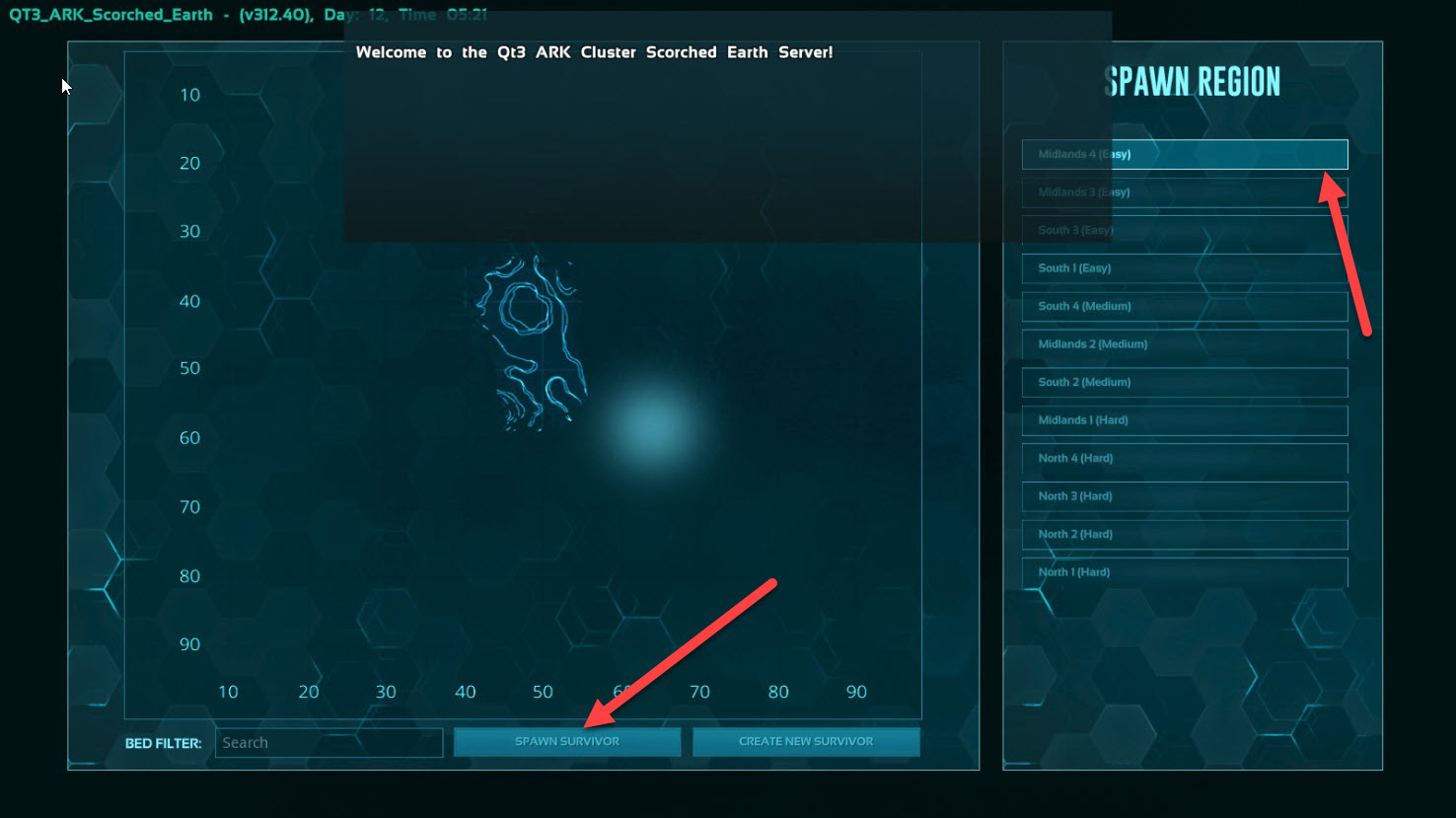 new-server-select-region