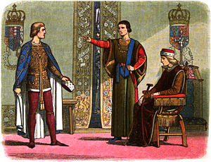 A_Chronicle_of_England_-Page_400-_Henry_VI_and_the_Dukes_of_York_and_Somerset