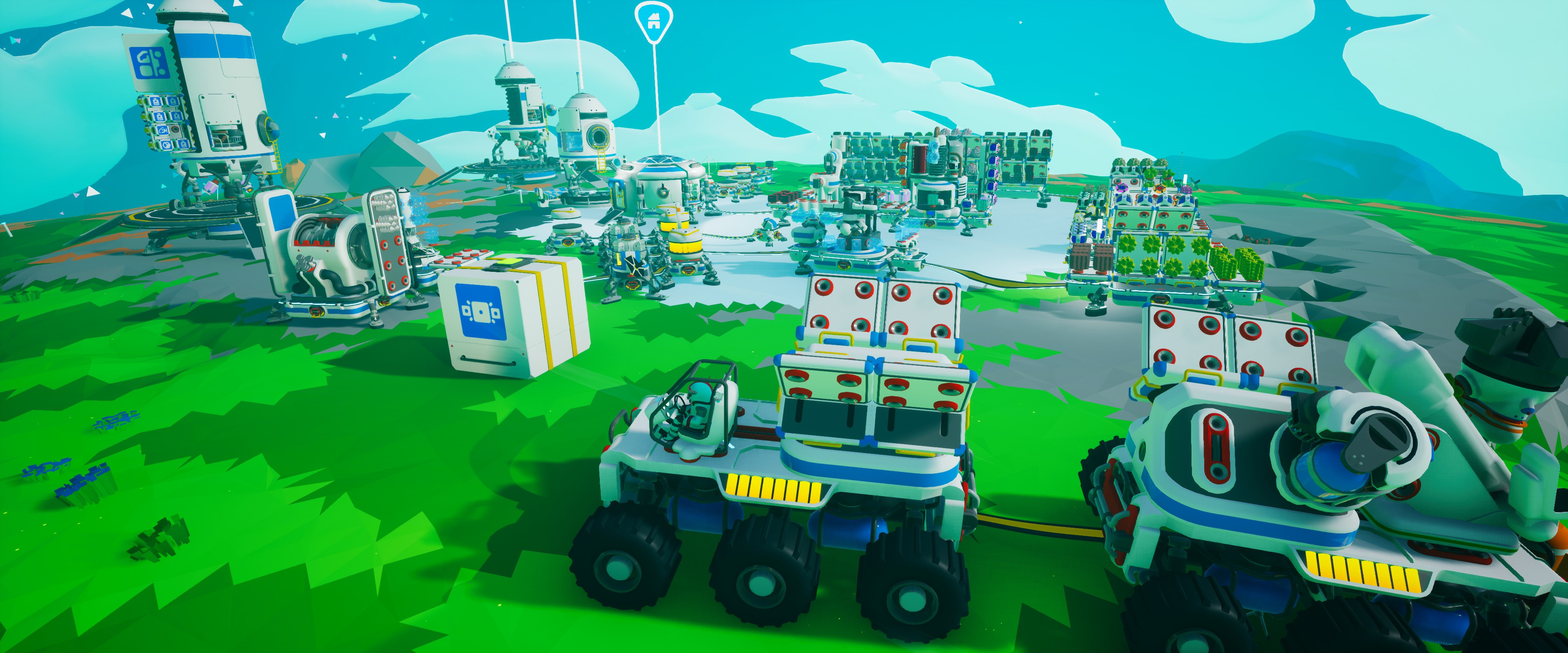 Astroneer - survive, explore and build in a low-poly galaxy