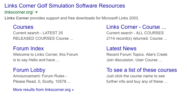 Links 2003 + 47 courses with free trial - Games - Quarter To Three