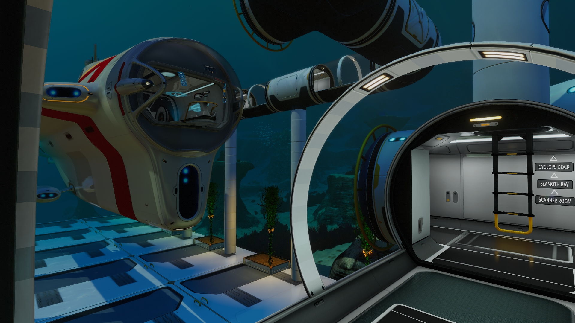 Subnautica Scanner Room : But also in the sea treaders more about subnautica.